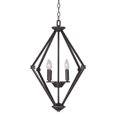 Khronos 4-Light Foyer Pendant
