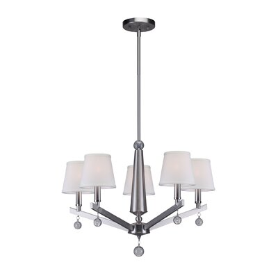 Noblestown 5-Light Shaded Chandelier