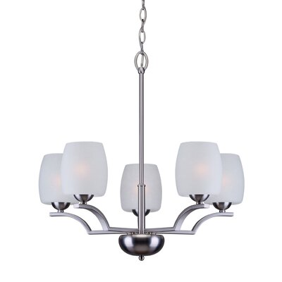 Newville 5-Light Shaded Chandelier