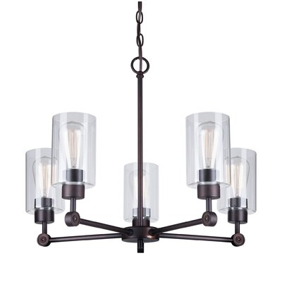 Cristian 5-Light Shaded Chandelier