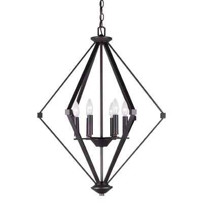 Wallen 6-Light Foyer Pendant Finish: Antique Bronze