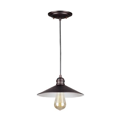 Crew Park 1-Light Mini Pendant Color: Antique Bronze