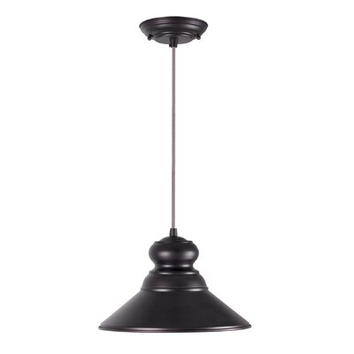 Ballarat Cord-Hung 1-Light Mini Pendant Finish: Antique Bronze