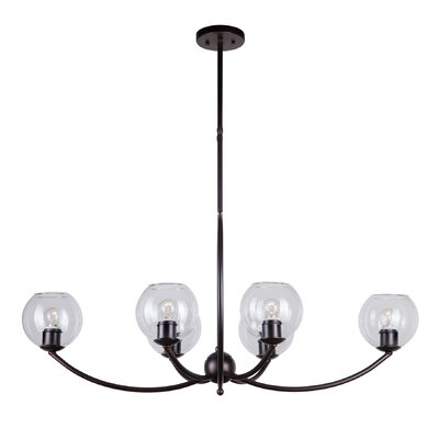 Brandi 6-Light Shaded Chandelier