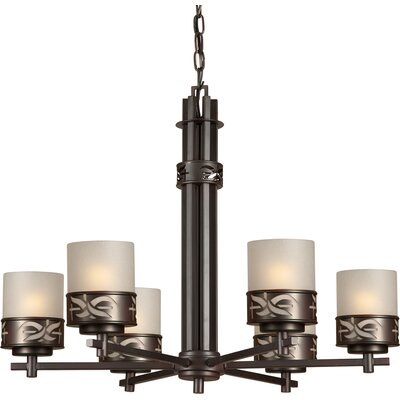 Higdon 6-Light Shaded Chandelier