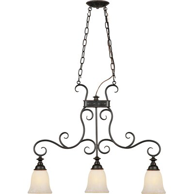 Bova 3-Light Kitchen Island Pendant