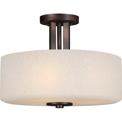 Mcleroy 3-Light Semi-Flush Mount