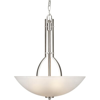Wakeman 4-Light Bowl Inverted Pendant