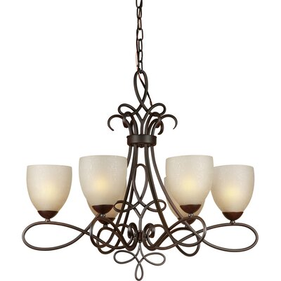 Boutte 6-Light Shaded Chandelier