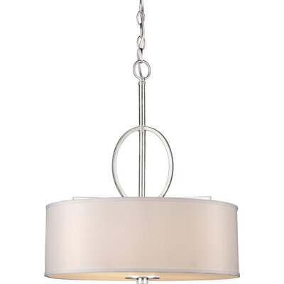 Brownleigh 4-Light Drum Pendant