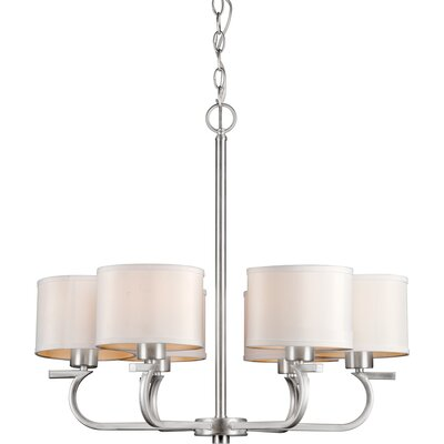 Mclennan 6-Light Shaded Chandelier