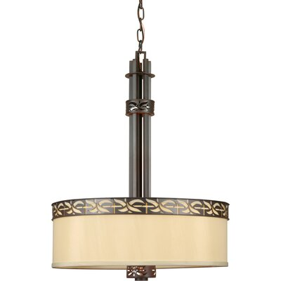 Highbridge 4-Light Drum Pendant