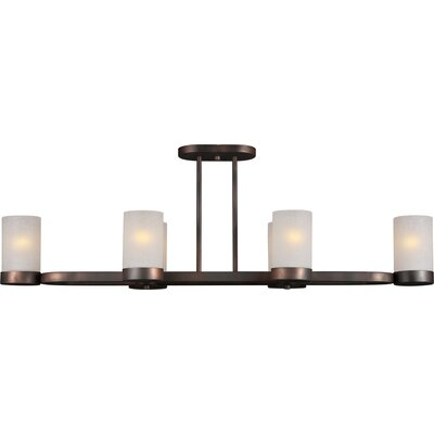 Highland Creek Oval 6-Light Kitchen Island Pendant
