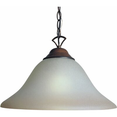 Dawes 1-Light Pendant Finish / Shade: Rustic Sienna / Umber