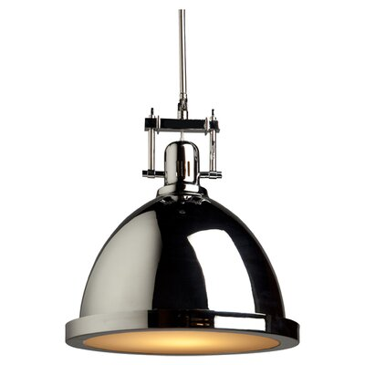 Farnham 1-Light Pendant Finish: Chrome