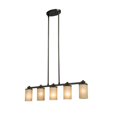 Amal Contemporary 5-Light Kitchen Island Pendant