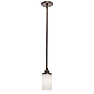 Parkdale 1-Light Pendant Finish: Oil Bronze