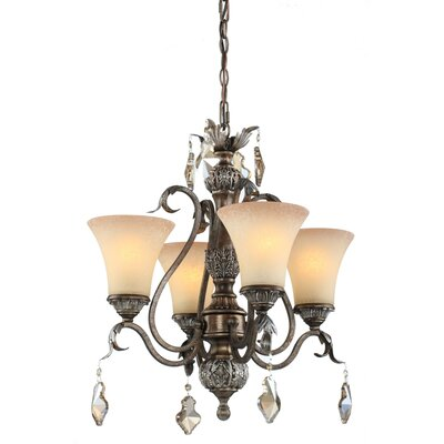 Blackwater 4-Light Shaded Chandelier