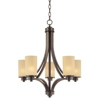 Parkdale 5-Light Shaded Chandelier