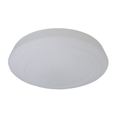 3-Light Flush Mount Size: 4 H x 15.75 W