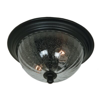 Huntington 2-Light Flush Mount