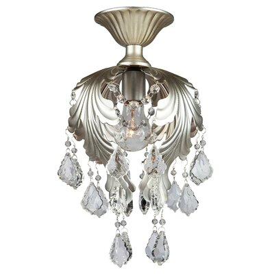 Prestige 1-Light Semi Flush Mount
