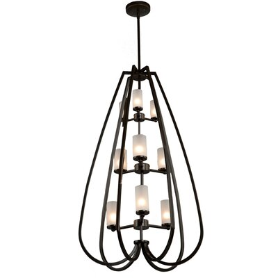 Milbrook 9-Light Candle-Style Chandelier