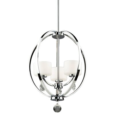 Piccadilly 3-Light Globe Pendant