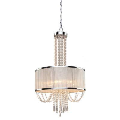 Valenzia 6-Light Drum Chandelier