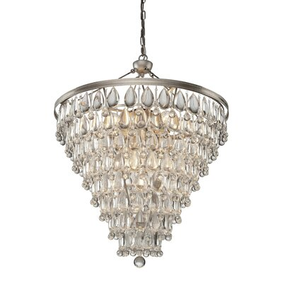 Pebble 11-Light Crystal Chandelier