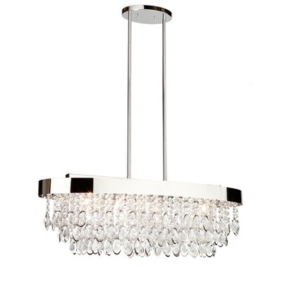 Delesha 5-Light Metal Pendant