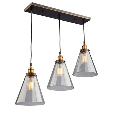 Farheen 3-Light 100W Pendant