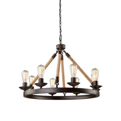 Danbury 8-Light Candle-Style Chandelier