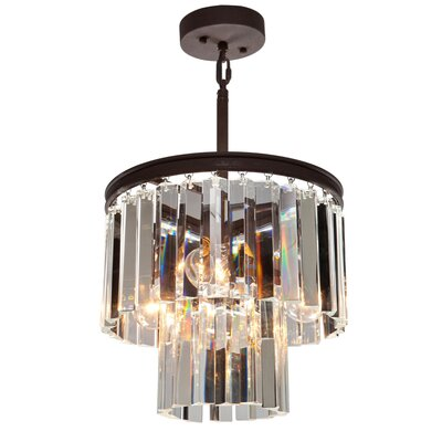 Bindera 3-Light Mini Pendant Finish: Java Brown