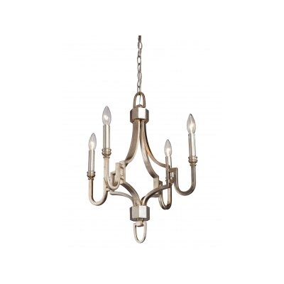Lexington 4-Light Candle-Style Chandelier Shade Included: No