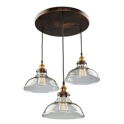 Farheen 3-Light Pendant