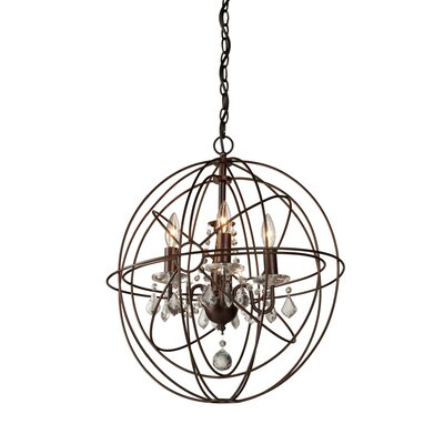Ethelinde 4-Light Globe Pendant