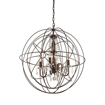 Ethelinde 5-Light Globe Pendant
