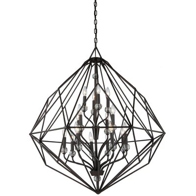 Monterey 16-Light Foyer Pendant Finish: Oil Rubbed Bronze