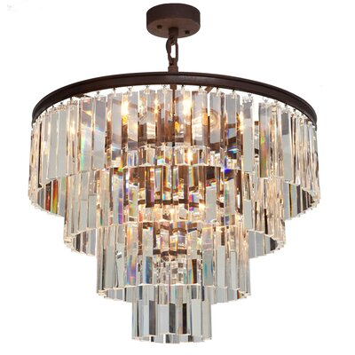 El Dorado 9-Light Pendant Finish: Java Brown