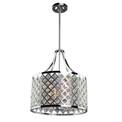 Umeaz 3-Light Metal Drum Pendant