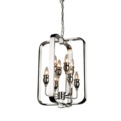 Costantino 8-Light Metal Foyer Pendant