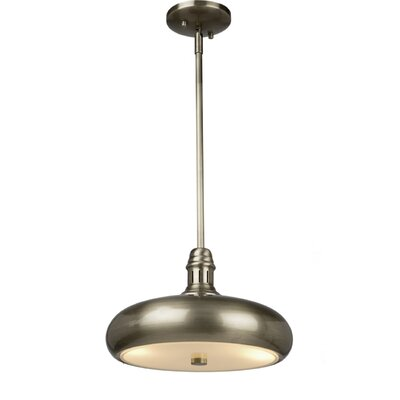 Halo 2-Light Mini Pendant Finish: Brushed Nickel