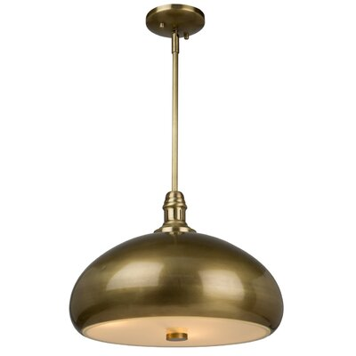 Madi 3-Light Bowl Pendant Finish: Burnished Bronze
