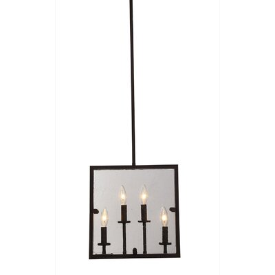 Harbor Point 4-Light Mini Pendant Finish: Oil Rubbed Bronze