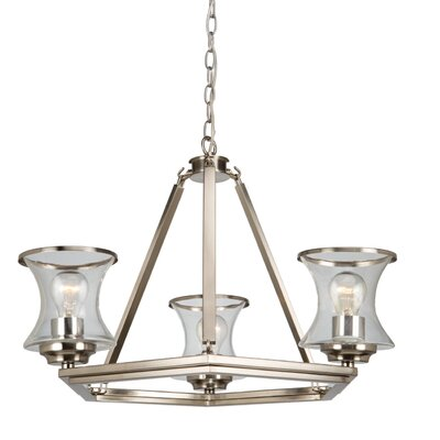 Jamerson 3-Light Candle-Style Chandelier