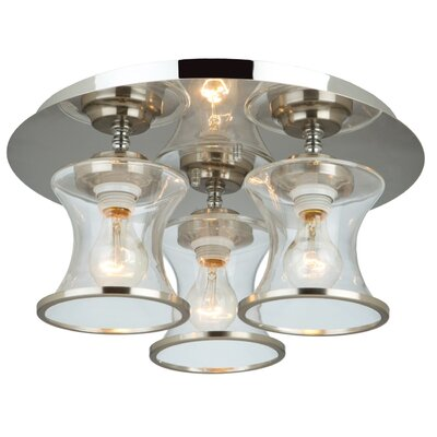 Jamerson 3-Light Flush Mount