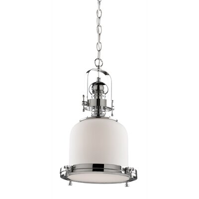 Victoriaville 1-Light Mini Pendant Size: 18 H x 11.75 W