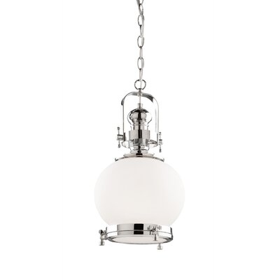Tressa� Industrial 1-Light Mini Pendant Size: 18 H x 11.75 W