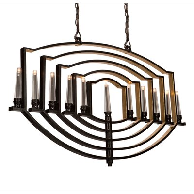 Aidan 11 Ligh Candle-Style Chandelier Finish: Oil Rubbed Bronze